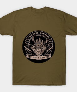fighters apparel T-Shirt military green for men