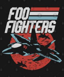 foo plane T-Shirt black design
