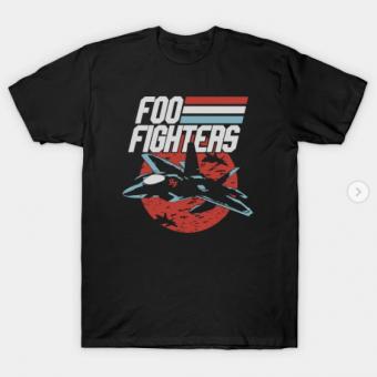 foo plane T-Shirt black for men