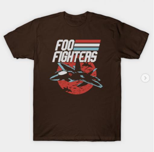 foo plane T-Shirt brown for men