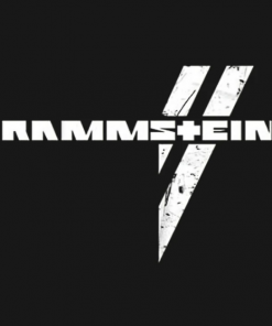 rammstein T-Shirt black design