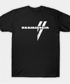 rammstein T-Shirt black for men