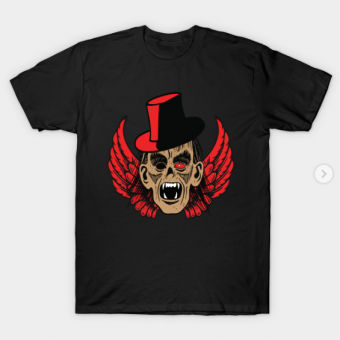 zombie T-Shirt black for men