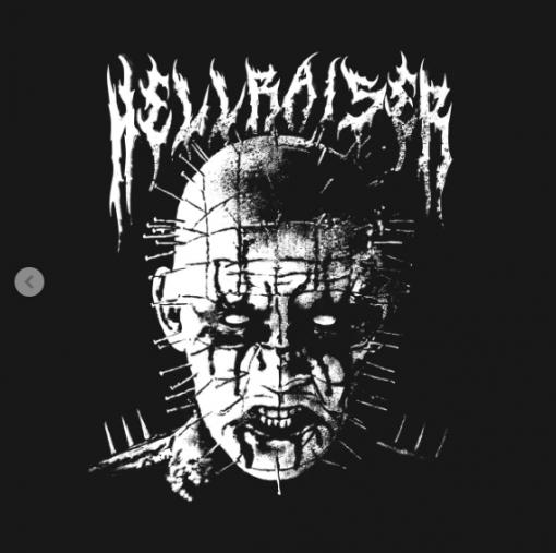 Black Metal Pinhead T-Shirt black design