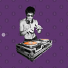 Bruce Lee T-Shirt purple design