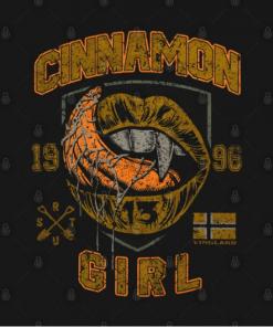 CINNAMON GIRL T-Shirt black design