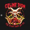 Celine Dion T-Shirt black design