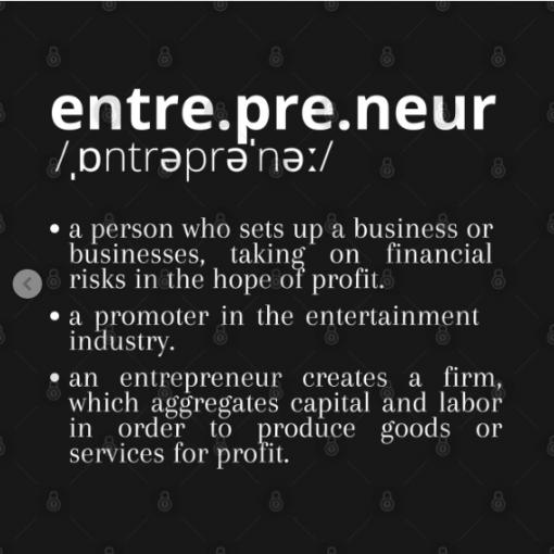 Entrepreneur T-Shirt black design