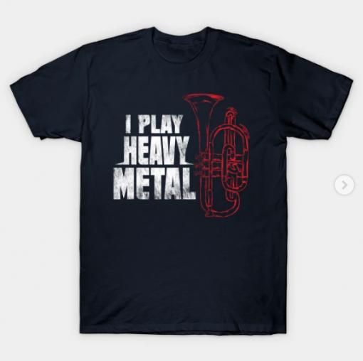 Euphonium T-Shirt black for men