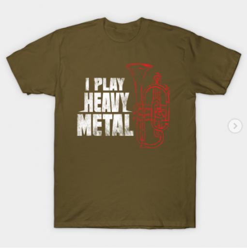 Euphonium T-Shirt military green for men