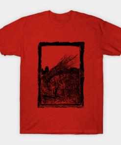 LED ZEPPELIN IV T-Shirt red for men