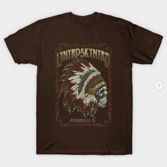 Lynyrd Skynyrd T-Shirt brown for men