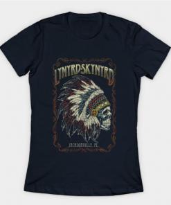 Lynyrd Skynyrd T-Shirt navy for women