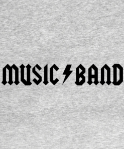 Music T-Shirt heather design