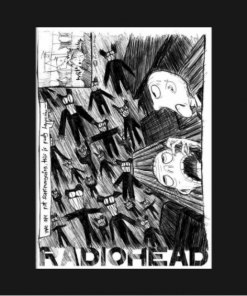Radiohead T-Shirt black design