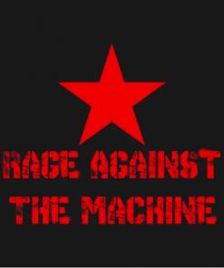 The machine T-Shirt black design