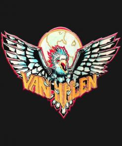 VH Bird T-Shirt black design