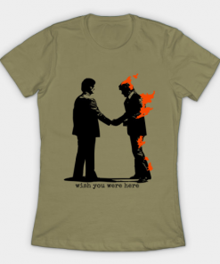 Wish You Were Here T-Shirt light olive for women