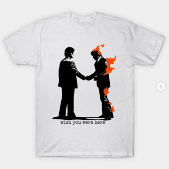 Wish You Were Here T-Shirt white for men