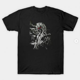memorial iron maiden T-Shirt black for men