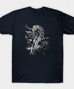 memorial iron maiden T-Shirt navy for men