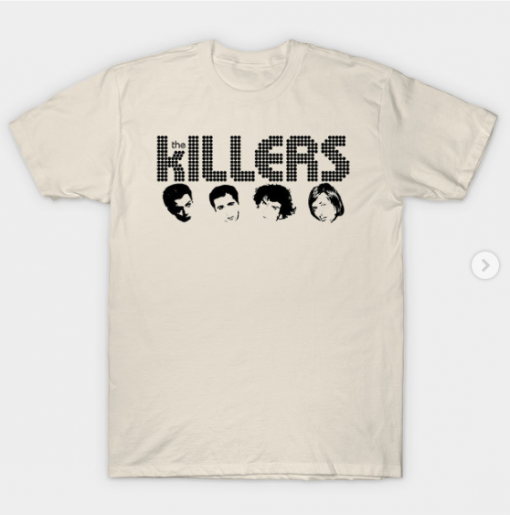 the killers T-Shirt creme for men
