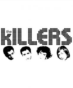 the killers T-Shirt white design