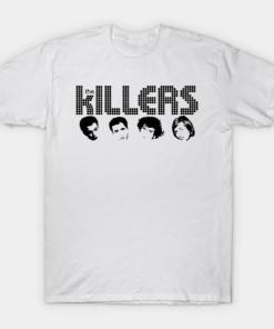 the killers T-Shirt white for men