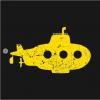 yellow submarine T-Shirt black design