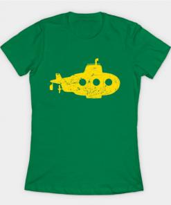 yellow submarine T-Shirt kelly for women